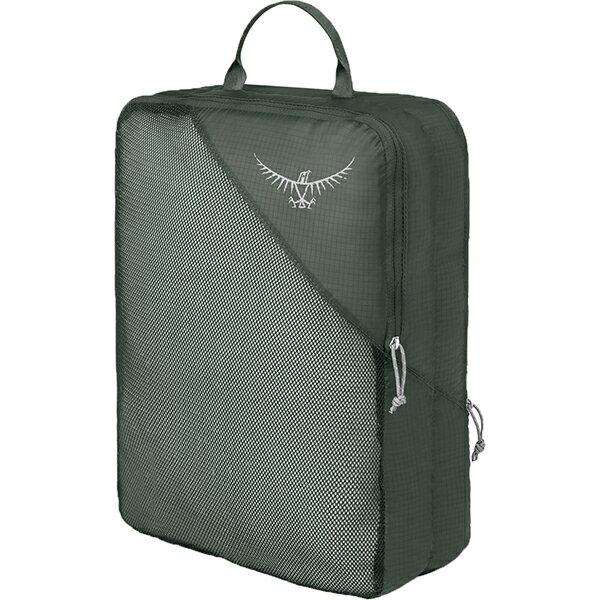 OSPREY(オスプレー) ULダブルサイデッドパッキングキューブ L/シャドーグレー/ワンサイズ OS58815グレー 衣類収納ボックス 収納用品 生活雑貨 ポーチ、小物バッグ ポーチ、小物バッグ アウトドアギア