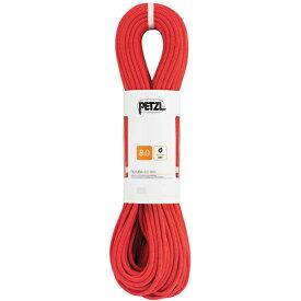 PETZL(ペツル) ルンバ 8.0mm/Red/60 R21BR060アウトドアギア ダブルロープ ロープ スポーツ アウトドア レッド おうちキャンプ ベランピング