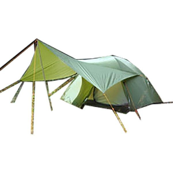 Ripen(ライペン アライテント) トレックタープ Beyond 0322501グリーン タープ タープ テント ヘキサ・ウイング型タープ ヘキサ・ウイング型タープ アウトドアギア