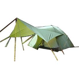 Ripen(ライペン アライテント) トレックタープ Beyond 0322501アウトドアギア ヘキサ・ウイング型タープ テント グリーン おうちキャンプ ベランピング