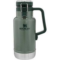 STANLEY(スタンレー)クラシック真空グロウラー1L/グリーン02111-013アウトドアギアステンレスボトル水筒マグボトルグリーンおうちキャンプベランピング