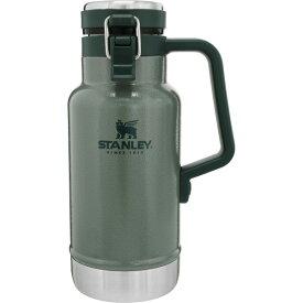 STANLEY(スタンレー) クラシック真空グロウラー 1L/グリーン 02111-013アウトドアギア ステンレスボトル 水筒 マグボトル グリーン おうちキャンプ ベランピング