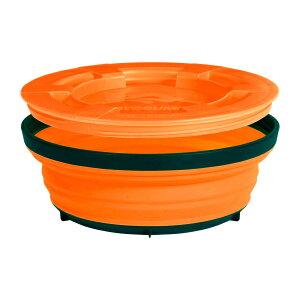 SEA TO SUMMIT(シートゥーサミット) X-シール & ゴー/オレンジ/L ST84003アウトドアギア フードコンテナ 水筒 弁当箱 オレンジ おうちキャンプ ベランピング