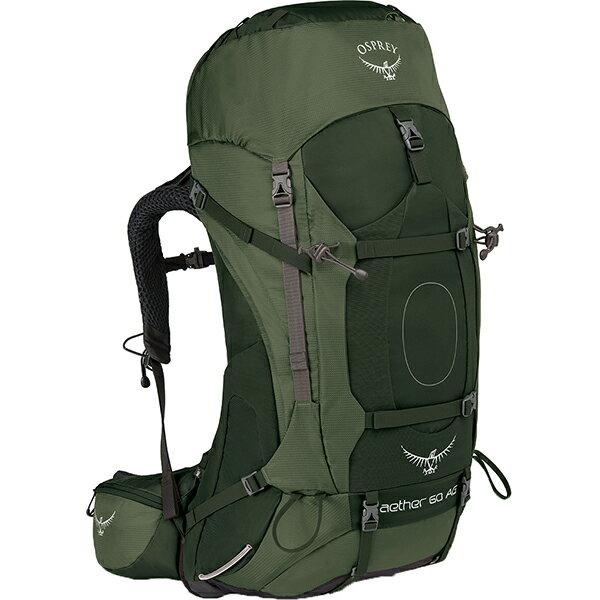 OSPREY(オスプレー) イーサーAG 60/アディロンダックグリーン/M OS50062グリーン リュック バックパック バッグ トレッキングパック トレッキング60 アウトドアギア