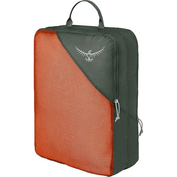 OSPREY(オスプレー) ULダブルサイデッドパッキングキューブ L/ポピーオレンジ/ワンサイズ OS58815オレンジ 衣類収納ボックス 収納用品 生活雑貨 ポーチ、小物バッグ ポーチ、小物バッグ アウトドアギア