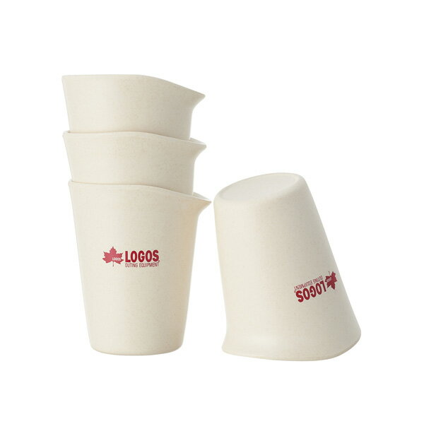 OUTDOOR LOGOS(ロゴス) バイオプラント立つコップ4 81284800カップ キャンプ用食器 アウトドア テーブルウェア テーブルウェア(カップ) アウトドアギア