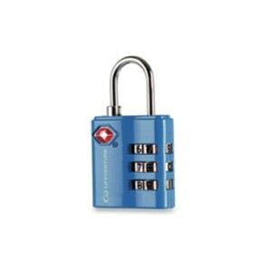 LIFEVENTURE(ライフベンチャー) ライフベンチャー TSAコンビロック/ブルー L72030アウトドアギア ダイヤルロック 鍵、ロック エアロパーツ ステッカー デカール おうちキャンプ