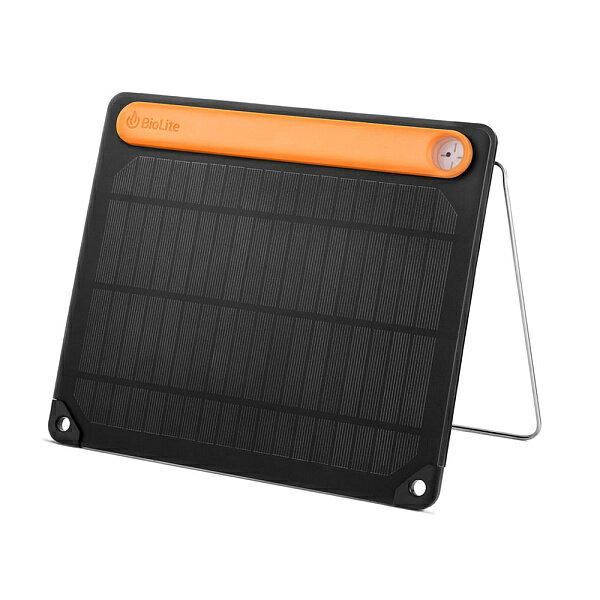 ★エントリーでポイント5倍!BioLite(バイオライト) BL.ソーラーパネル5 PLUS 1824261ソーラーチャージャー 充電器 バッテリー 携帯用発電機 ソーラーパネル充電 アウトドアギア