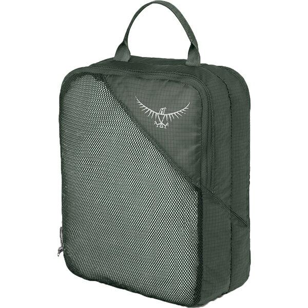 OSPREY(オスプレー) ULダブルサイデッドパッキングキューブ M/シャドーグレー/ワンサイズ OS58814グレー 衣類収納ボックス 収納用品 生活雑貨 ポーチ、小物バッグ ポーチ、小物バッグ アウトドアギア