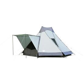 ogawa campal(小川キャンパル) アテリーザ 2783アウトドアギア キャンプ6 キャンプ用テント タープ 六人用(6人用) グレー おうちキャンプ ベランピング