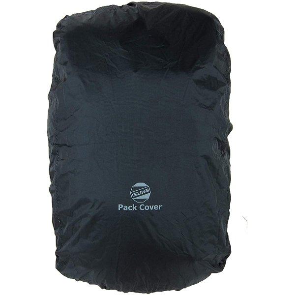 ISUKA(イスカ) パックカバー 45L/ブラック 261301ザックカバー バッグ アウトドア アウトドアギア
