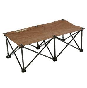 UNIFLAME(ユニフレーム) リラックスベンチ ブラウン×ブラック 680315アウトドアギア ベンチ テーブル レジャーシート イス ブラウン おうちキャンプ ベランピング