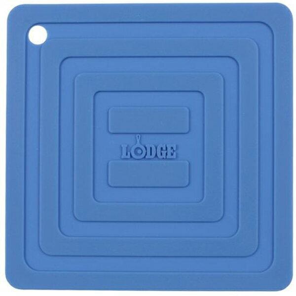 LODGE(ロッジ) [正規品]LDG シリコンスクエアポットホルダーBL AS6S31 19240094ブルー クッカー クッキング用品 バーべキュー アクセサリー アクセサリー アウトドアギア