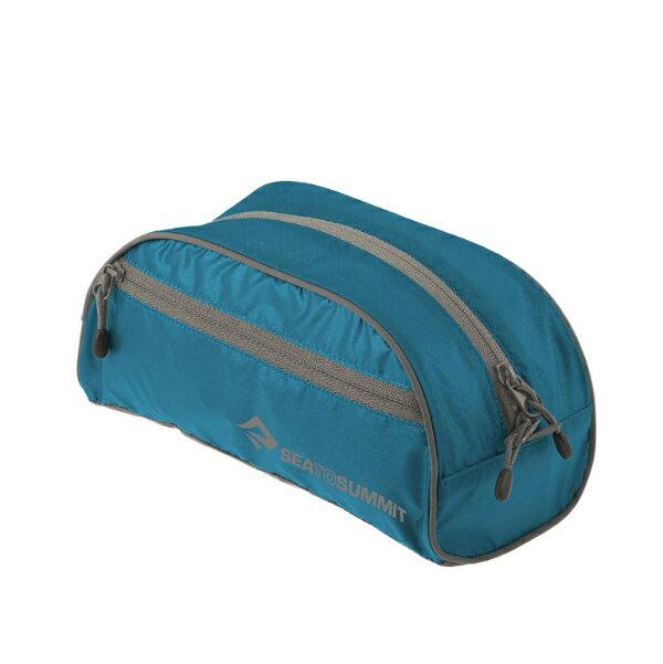 SEA TO SUMMIT(シートゥーサミット) トイレタリーバッグ/ブルー/グレー/S ST85005ブルー アクセサリーポーチ バッグ アウトドア ポーチ、小物バッグ 化粧品、洗顔用品バッグ アウトドアギア