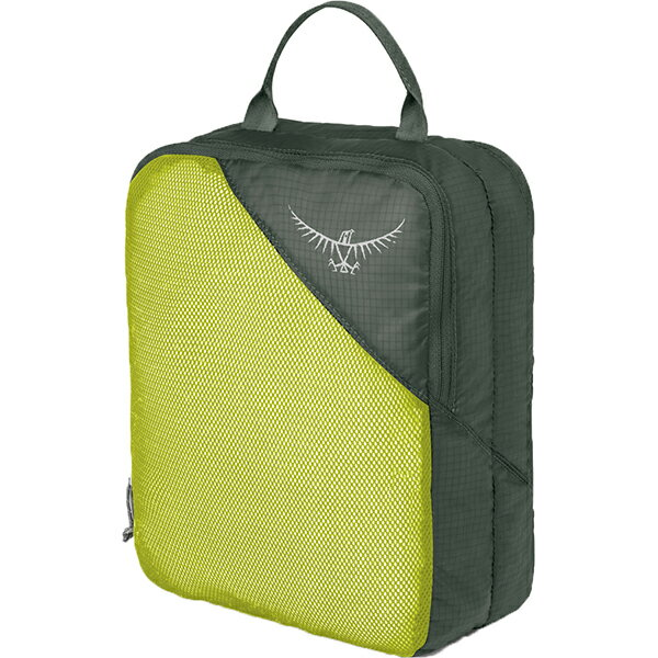 OSPREY(オスプレー) ULダブルサイデッドパッキングキューブ M/エレクトリックライム/ワンサイズ OS58814グリーン 衣類収納ボックス 収納用品 生活雑貨 ポーチ、小物バッグ ポーチ、小物バッグ アウトドアギア