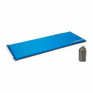 DUNLOP(ダンロップ) キャンピングマット50mm GMT36アウトドアギア 自動膨張マット アウトドア用寝具 ブルー おうちキャンプ ベランピング