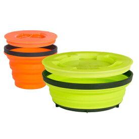SEA TO SUMMIT(シートゥーサミット) X-シール & ゴーセット/オレンジ/ライム/S ST84005001アウトドアギア フードコンテナ 水筒 弁当箱 おうちキャンプ ベランピング