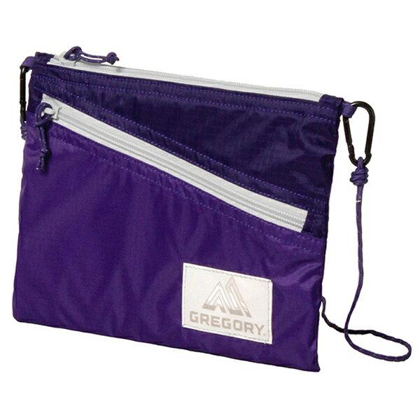 GREGORY(グレゴリー) サコッシュ/パープル 85410パープル バッグ アウトドア アウトドア ポーチ、小物バッグ ポーチ、小物バッグ アウトドアギア
