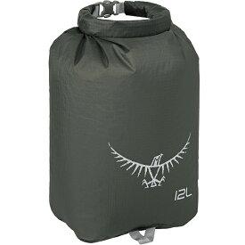 OSPREY(オスプレー) ULドライサック 12/シャドーグレー OS58606001アウトドアギア ドライバッグ 防水バッグ・マップケース アウトドア トートバッグ グレー おうちキャンプ ベランピング