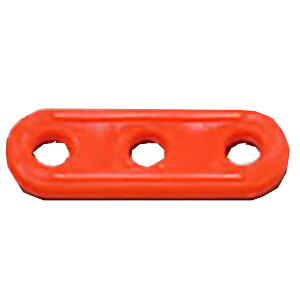 Ripen(ライペン アライテント) プラスチック自在(10個入り) 0510100アウトドアギア ロープ、自在金具 ハンマー・ペグ・ロープ等 タープ テントアクセサリー オレンジ おうちキャンプ ベランピン