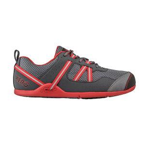 XEROSHOES(ゼロシューズ) PRIOメンズ/チャコールレッド/M8.5 PRM-CRDアウトドアギア スニーカー・ランニング アウトドアスポーツシューズ トレッキング 靴 ブーツ レッド 男性用 おうちキャンプ ベ