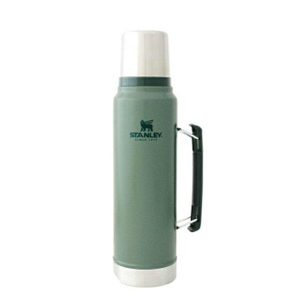 STANLEY(スタンレー) クラシック真空ボトル 1L/グリーン 01254-046グリーン マグボトル 水筒 水筒 保温・保冷ボトル アウトドアギア