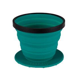 SEA TO SUMMIT(シートゥーサミット) X-ブリュー/パシフィックブルー ST84035001アウトドアギア コーヒー コーヒー用品 お茶 お茶用品 コーヒープレス ブルー