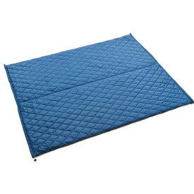 PuroMonte(プロモンテ) リバーシブルキルティングマルチシート/グレー/ブルー GFC53アウトドアギア マット タープ テントアクセサリー ブルー おうちキャンプ ベランピング