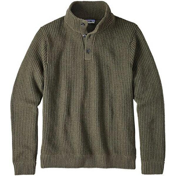 ★エントリーでポイント5倍!patagonia(パタゴニア) Ms Off Country P/O Sweater/INDG/S 50595男性用 グリーン セーター ニット トップス 男性用セーター アウトドアウェア