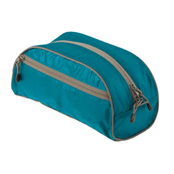 SEA TO SUMMIT(シートゥーサミット) トイレタリーバッグ/ブルー/グレー/L ST85006ブルー アクセサリーポーチ バッグ アウトドア ポーチ、小物バッグ 化粧品、洗顔用品バッグ アウトドアギア