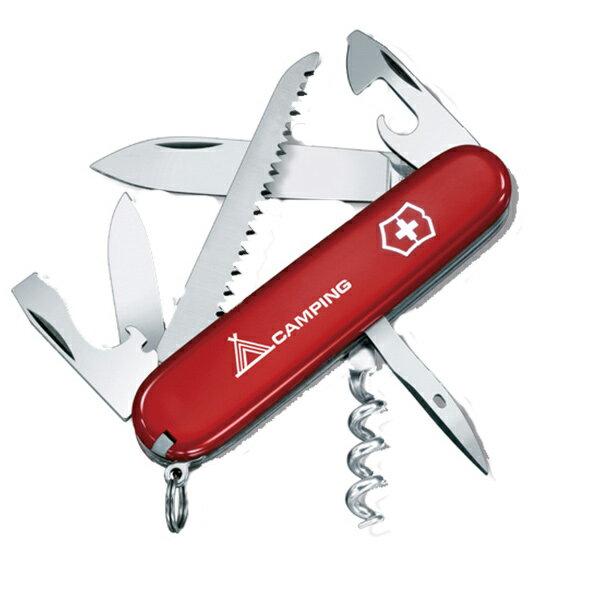 Victorinox Swiss Army(ビクトリノックス) キャンパーRD 64601レッド ナイフ&ツール アウトドア ツールナイフ アウトドアギア