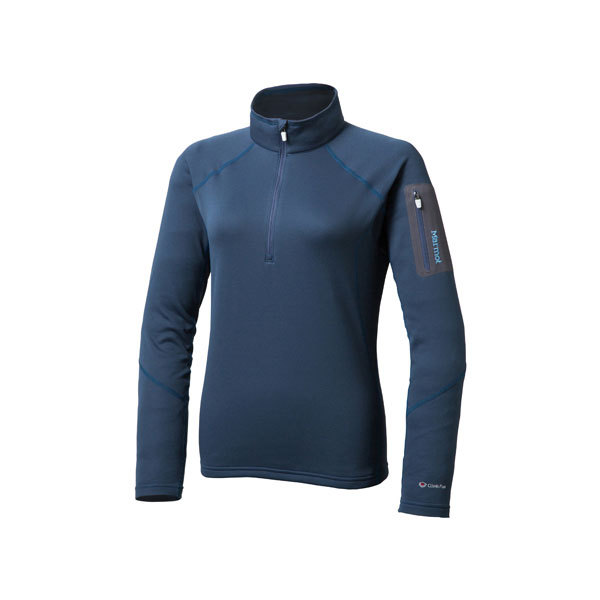 Marmot(マーモット) WS CLIMB FLEX AIRSTO/(INK)/L MJF-F5573W女性用 大人用 ブルー シャツ ウエア アウトドア 長袖シャツ 長袖シャツ女性用 アウトドアウェア