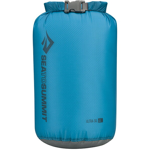 SEA TO SUMMIT(シートゥーサミット) ウルトラシル ドライサック/ブルー/4L ST83013ブルー ウルトラシル ドライサック バッグ アウトドア アウトドア 防水バッグ・マップケース ドライバッグ アウトドアギア
