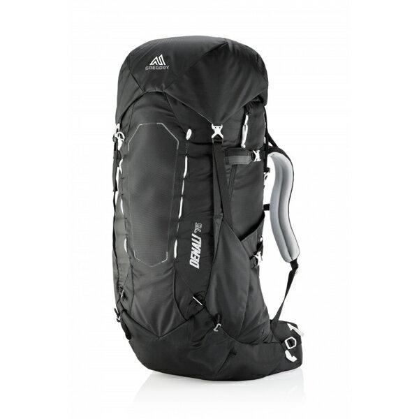 GREGORY(グレゴリー) デナリ75/バサルトブラック/L 64920ブラック リュック バックパック バッグ トレッキングパック トレッキング70 アウトドアギア