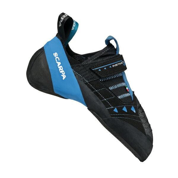SCARPA(スカルパ) インスティンクトVS R/ブラック/アズール/#38.5 SC20198ブーツ 靴 トレッキング トレッキングシューズ クライミング用 アウトドアギア