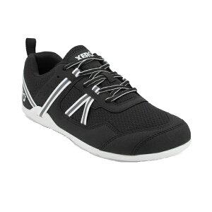 XEROSHOES(ゼロシューズ) PRIOメンズ/ブラック/ホワイト/M7 PRM-BLWアウトドアギア スニーカー・ランニング アウトドアスポーツシューズ トレッキング 靴 ブーツ ブラック 男性用 おうちキャンプ