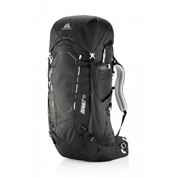 GREGORY(グレゴリー) デナリ75/バサルトブラック/M 64921ブラック リュック バックパック バッグ トレッキングパック トレッキング70 アウトドアギア