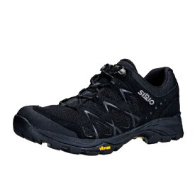 SIRIO(シリオ) P.F.116-2/BLK/25.0cm PF116-2アウトドアギア アウトドアスポーツシューズ メンズ靴 ウォーキングシューズ ブラック 男性用