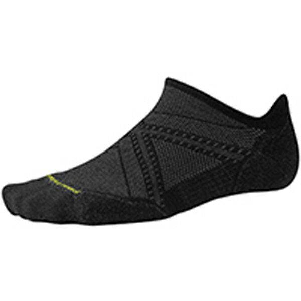 SmartWool(スマートウール) PhDランライトエリートマイクロ/ブラック/M SW70503男性用 ブラック 靴下 メンズウェア ウェア ソックス ウール アウトドアウェア