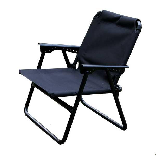 ONWAY(オンウェー) エッチングチェア(ブラック) FC-5103ブラック イス レジャーシート テーブル チェア コンパクトチェア アウトドアギア