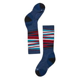 SmartWool(スマートウール) Ks ウィンタースポーツストライプ/アルパインブルー/S SW72053002004アウトドアウェア 子供用ソックス ソックス タイツ 靴下 ブルー 子供用