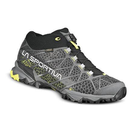 LA SPORTIVA(ラ・スポルティバ) シンセシスGTXサラウンド/グレイ/グリーン/43 MT14Pブーツ 靴 トレッキング トレッキングシューズ ハイキング用 アウトドアギア