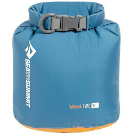 SEA TO SUMMIT(シートゥーサミット) eVac ドライサック/ブルー/3L ST83041ブルー ダイビングバッグ シュノーケリング ダイビング 防水バッグ・マップケース ドライバッグ アウトドアギア