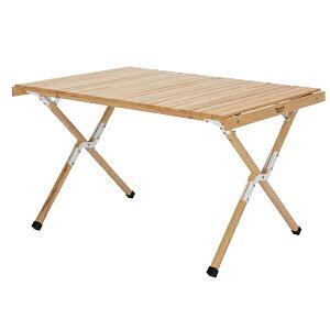 HangOut(ハングアウト) アペロウッドテーブル600 ナチュラル APR-H600(NA)アウトドアギア ロールテーブル レジャーシート おうちキャンプ ベランピング
