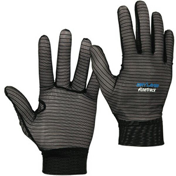 finetrack(ファイントラック) パワーメッシュインナーグローブ Unisex BK FAU0201男女兼用 ブラック 手袋 レディースウェア ウェア ウェアアクセサリー グローブ アウトドアウェア
