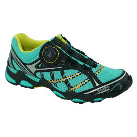 TrekSta(トレクスタ) NEST SyncBOA/ラグーン/イエロー964/24.5 EBK522アウトドアギア トレイルランシューズ アウトドアスポーツシューズ トレッキング 靴 ブーツ ブルー おうちキャンプ ベランピング