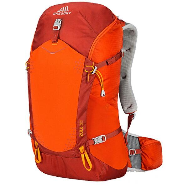 GREGORY(グレゴリー) ズール30/バーニッシュドオレンジ/L 68431オレンジ リュック バックパック バッグ トレッキングパック トレッキング30 アウトドアギア