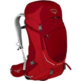 OSPREY(オスプレー) ストラトス 50/ビートレッド/M/L OS50300アウトドアギア トレッキング50 トレッキングパック バッグ バックパック リュック レッド 男性用 おうちキャンプ ベランピング