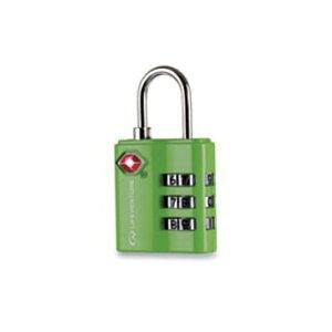 LIFEVENTURE(ライフベンチャー) ライフベンチャー TSAコンビロック/グリーン L72040アウトドアギア ダイヤルロック 鍵、ロック エアロパーツ ステッカー デカール おうちキャンプ ベランピング