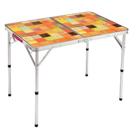 Coleman(コールマン) ナチュラルモザイクリビングテーブル90/プラス 2000026752テーブル レジャーシート フォールディングテーブル アウトドアギア